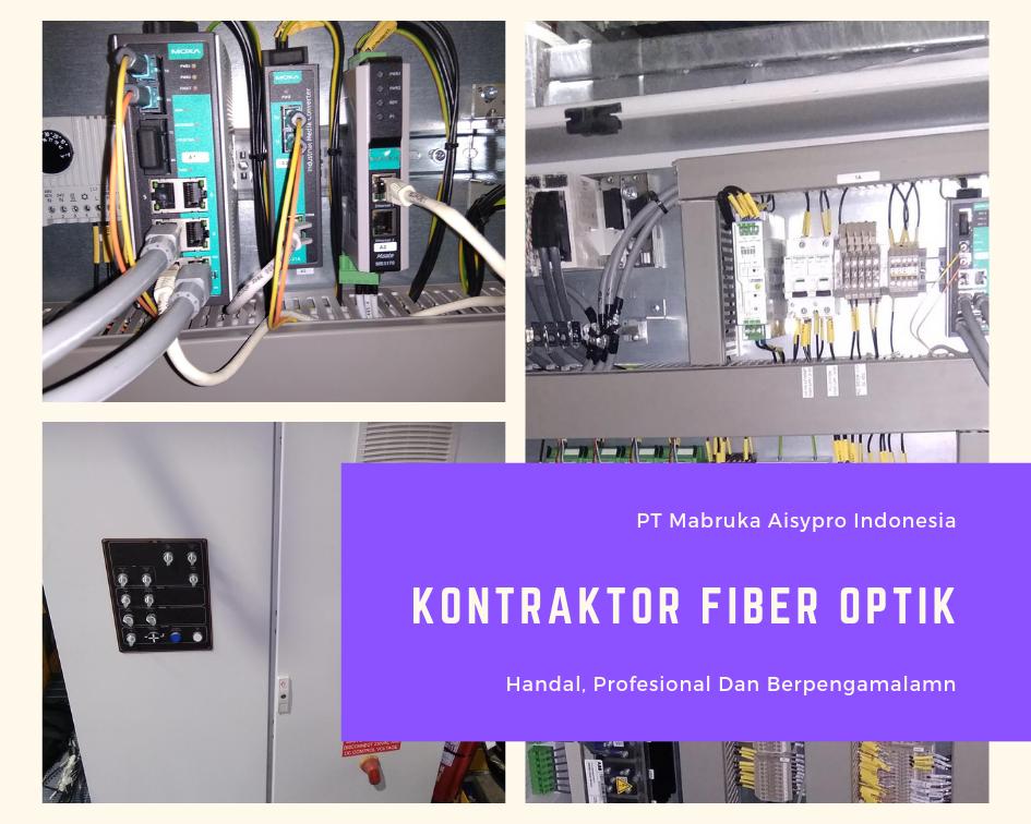 Perusahaan kontraktor Fiber Optik